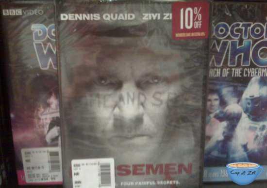 Dennis Quaid semen