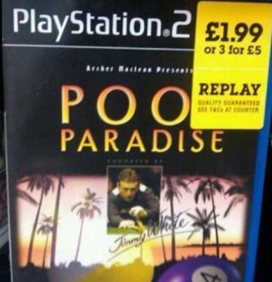 PS2 Poo paradise