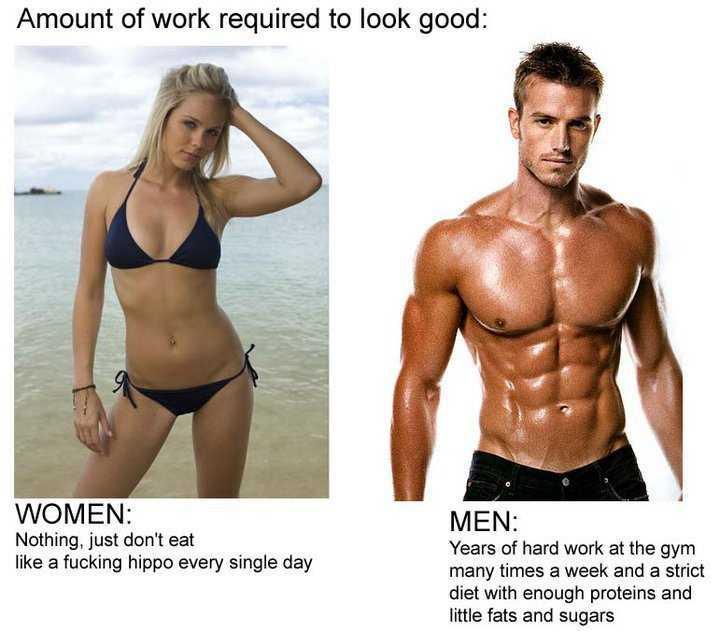 Funny memes about men vs women