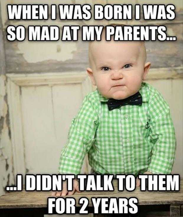 Funny Baby Memes on Being Mumma