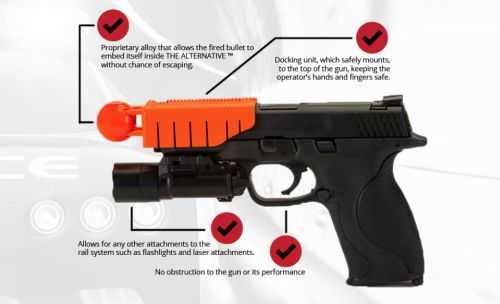 Ferguson Police Test New Non Lethal Pistol Attachment 304