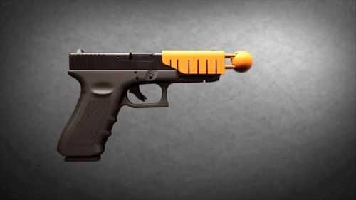 Ferguson Police Test New Non Lethal Pistol Attachment 305
