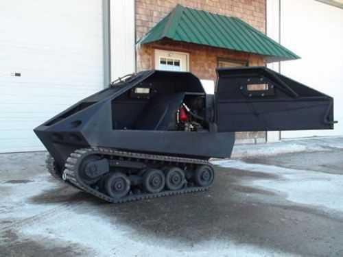The World's Smallest Tank