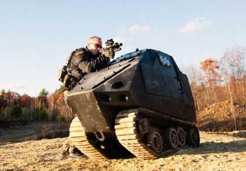 PAV Badger - The World's Smallest Tank