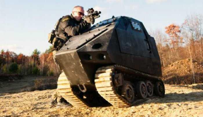The World's Smallest Tank