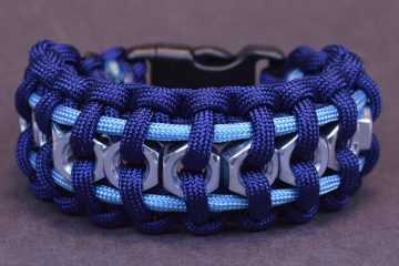 Make The Hex Nut Paracord Bracelet
