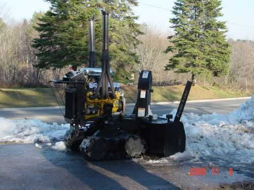 V8 Powered Snowblower Clear The Driveway Like A Boss