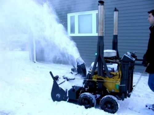 V8 Powered Snowblower 239