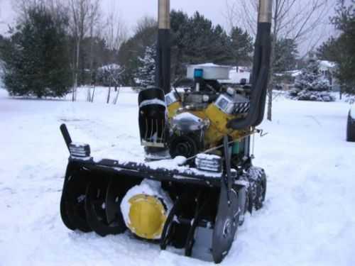 V8 Powered Snowblower 240
