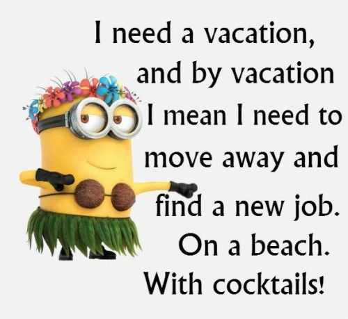Fun Minion Quotes For Work. QuotesGram Funny Quotes Of The Day