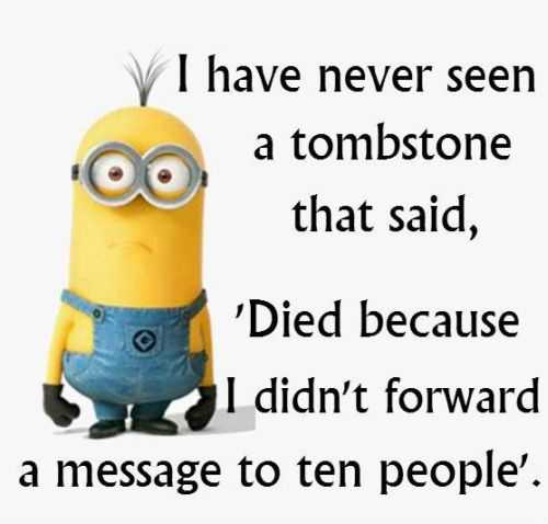 Funny Minion Quotes Of The Day .