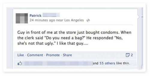 guy just bought condoms do you need a bag