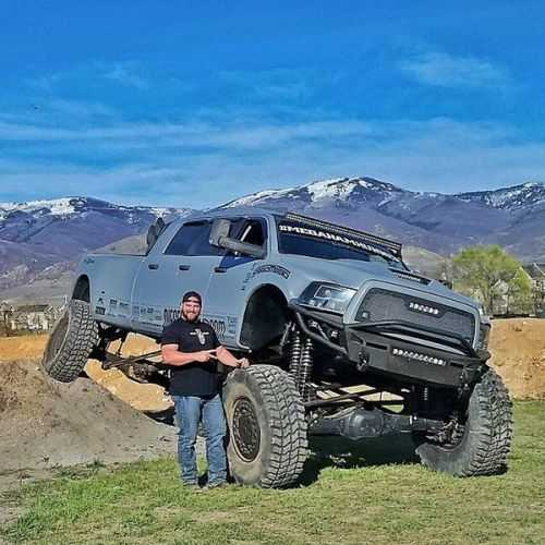 Meet The Mega Ram Runner as well gorhino likewise 2017 Dodge Ram 2500 Granite 585705 in addition One Wire Alternator Wiring Diagram Chevy Inside Ford Alternator Wiring Diagram also News. on 2017 dodge power wagon build