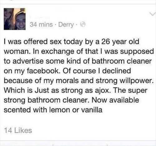 yet another funny facebook status Funniest Pictures Of The Week featured