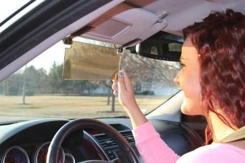 Flip Down See Through Sun Visor For Your Car 329