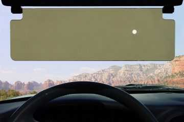 Flip Down See Through Sun Visor For Your Car featured