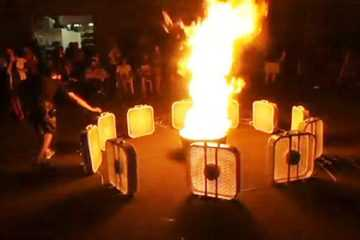 campfire fire tornado firenado video featured