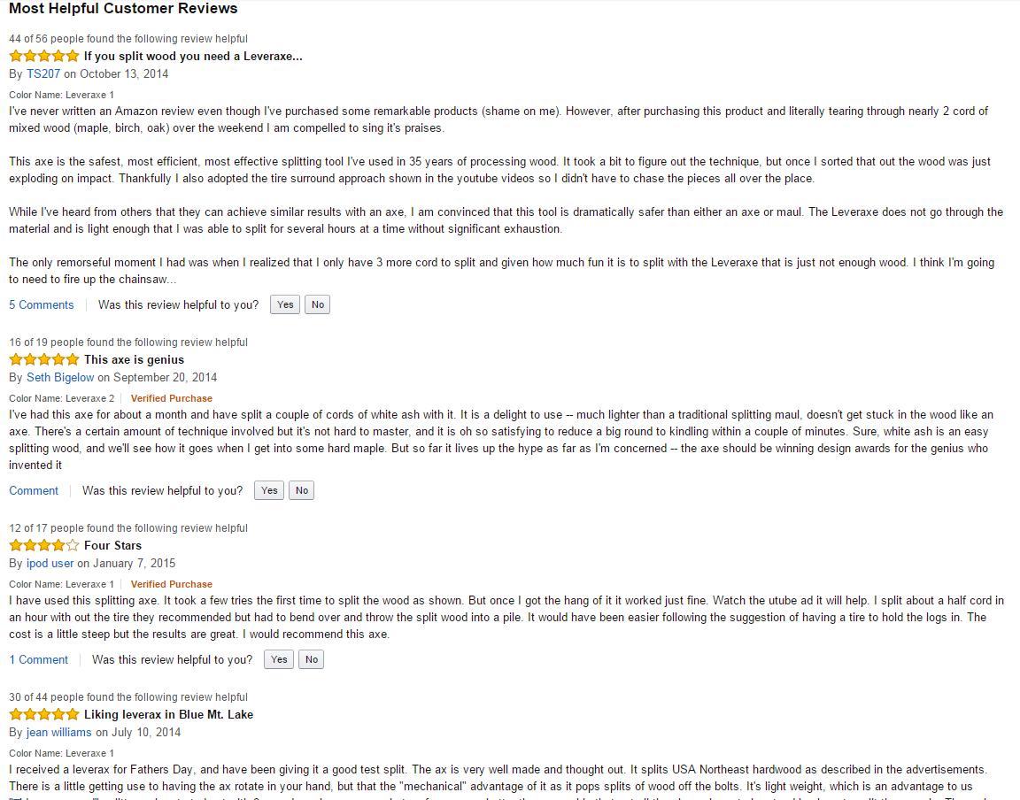 leveraxe reviews thefunnybeaver.com