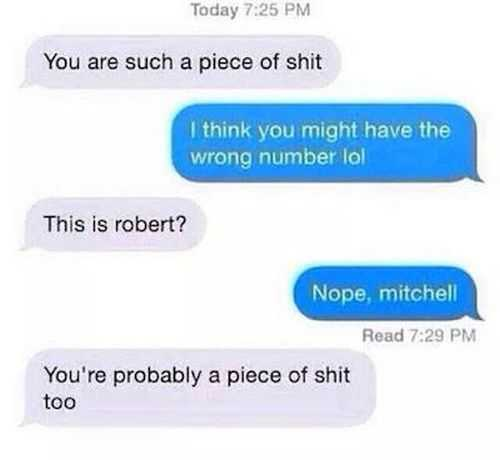 you have got the wrong number. funny txts pictures Funniest Pictures Of The Week