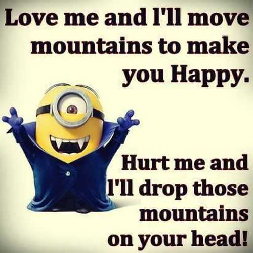 Despicable Me Funny Love Quotes : Despicable Me Minions Funny Sayings despicable funny quotes ...