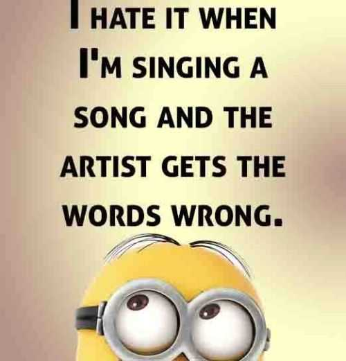 The Funniest Picture Quotes: Funny Minion Quotes Of The Week