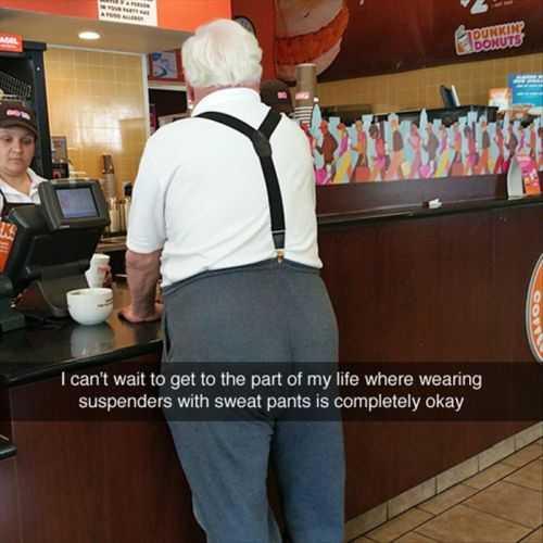 suspenders with sweatpants