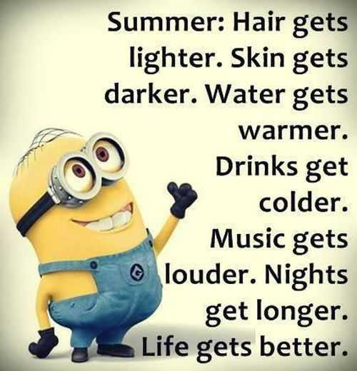 Funny Summertime Quotes: Funny Minions Pictures For The Week