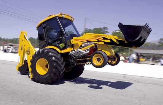 JCB GT Dragster Backhoe