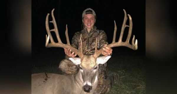 14 Year Old Tags Record Buck In Oklahoma 003