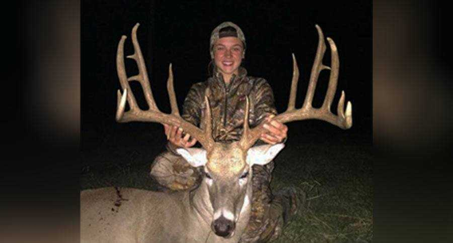 Record Oklahoma Buck Tagged By 14 Year Old