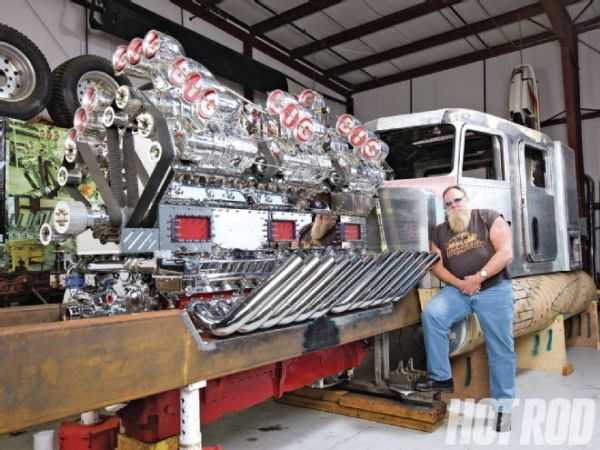 "Mike Harrah's V24-71 Detroit Diesel ""Big Mike"" 1"