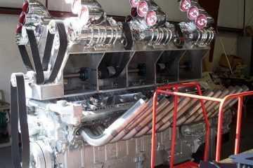 "Mike Harrah's V24-71 Detroit Diesel ""Big Mike"" video featured"