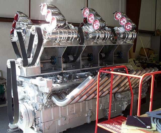 Mike Harrah S V24 71 Detroit Diesel Just Because He Can