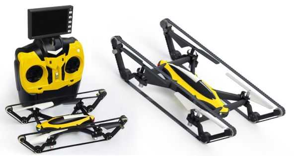 The B-Unstoppable - The World's First Commercially Available Hybrid Tank-Quadcopter videos 001