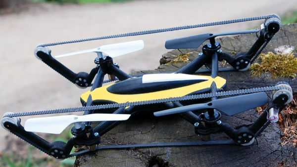 The B-Unstoppable - The World's First Commercially Available Hybrid Tank-Quadcopter videos 002
