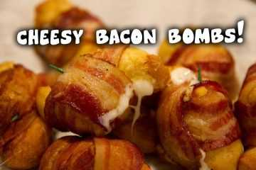 how to make Cheesy Bacon Bombs video featured
