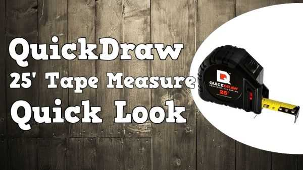 quickdraw tape measure featured