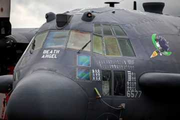 Air Force'S Newest Gunship - The Ac-130J Ghostrider Featured
