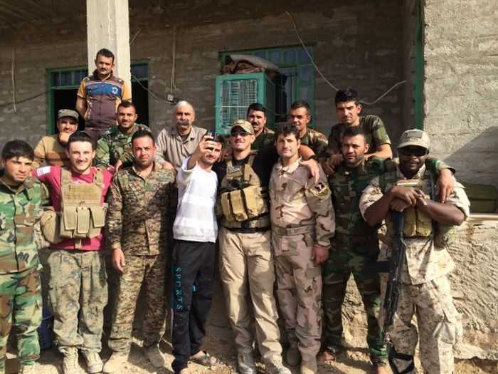 Family Of Ex Marines In Iraq Providing Aid And Fighting ISIS pictures 001