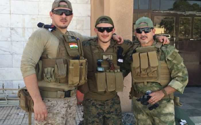 Family Of Ex Marines In Iraq Providing Aid And Fighting ISIS pictures 005