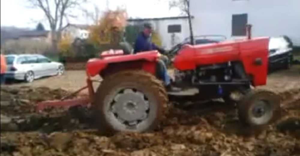 Farmer Gets His Revenge On People Who Keep Parking On His Land video featured