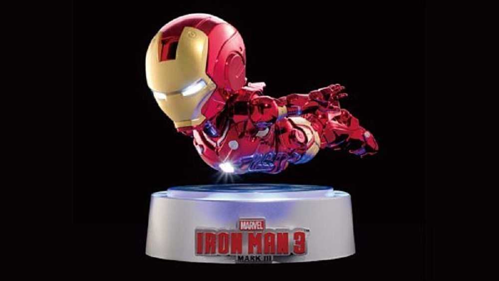 Crazy Toys Magnetic Floating Iron Man MK III New Iron Man Action Figure Collecti