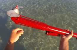 How To Make A Trolling Motor Using An Old Angle Grinder diy video
