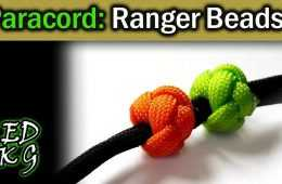 How To make Paracord Ranger Beads video featured
