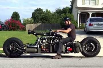 Insane Hydrostatic Twin Turbo Diesel Motorcycle - And The Build video featured