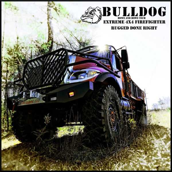 Meet The Bulldog 4x4 Fire Truck pics 001