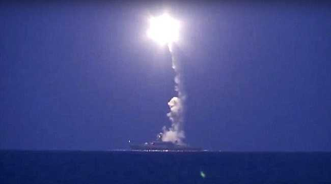 Russia Launches Cruise Missiles Against ISIS In Syria pics 2
