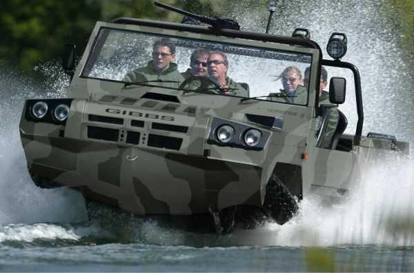 gibbs Humdinga amphibious truck vehicle boat pics 002