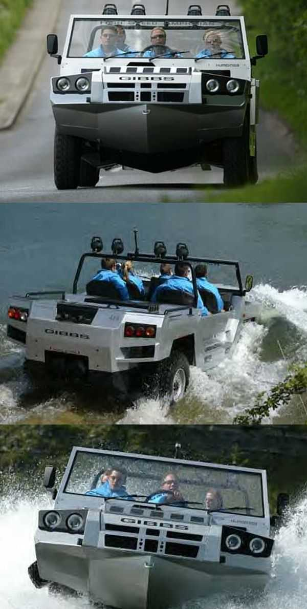 gibbs Humdinga amphibious truck vehicle boat pics 003
