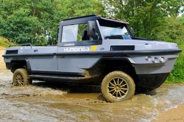 gibbs Humdinga amphibious truck vehicle boat pics 005